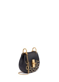 Chloé 'Drew' mini stud leather shoulder bag
