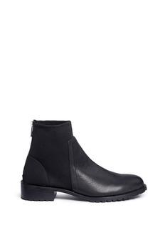 Pedder RedScuba jersey leather boots