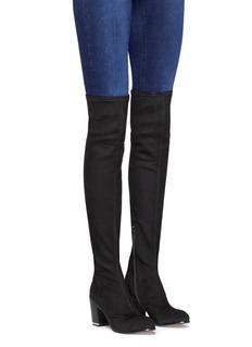 Pedder RedSuede knee high boots