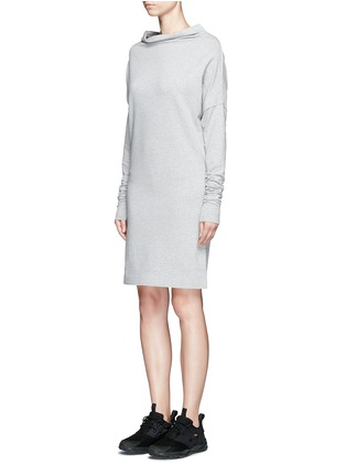 Front View - Click To Enlarge - Norma Kamali - 'All In One' convertible cotton jersey dress