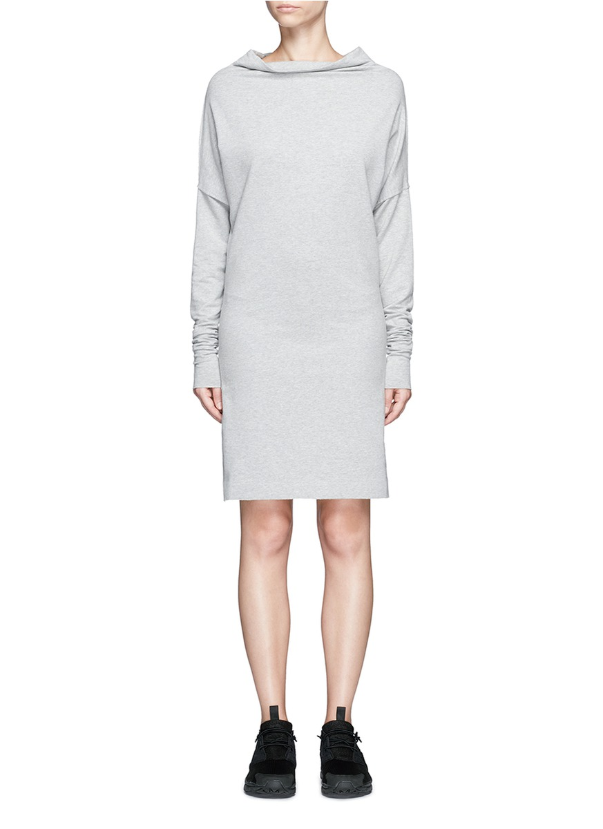 All In One convertible cotton jersey dress by Norma Kamali