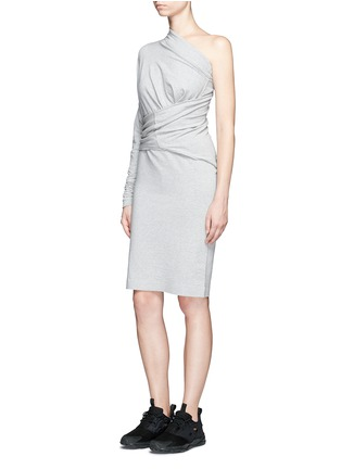 Figure View - Click To Enlarge - Norma Kamali - 'All In One' convertible cotton jersey dress