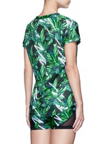'The Retrograde' forest print active T-shirt