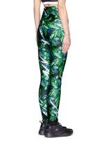'The Retrograde' forest print active leggings