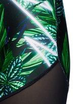 'The Retrograde' forest print bike shorts