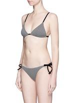 'The Charlotte' dotty tie bikini bottom