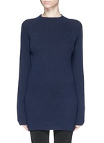 'Finn' wool-cashmere rib knit sweater