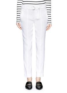 VINCEBelted linen pants