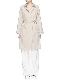 VINCEBelted trench coat