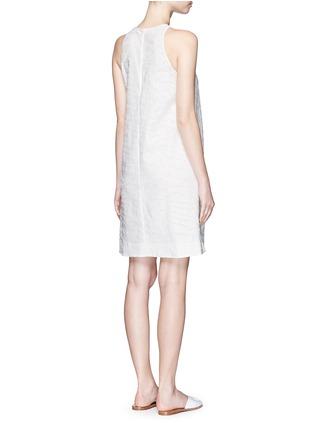 Back View - Click To Enlarge - Vince - Burnout jacquard A-line dress