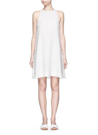 Main View - Click To Enlarge - Vince - Burnout jacquard A-line dress