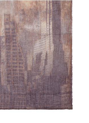 Faliero Sarti-'Sky' print virgin wool blend scarf