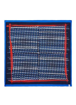 首图 - 点击放大 - FALIERO SARTI - 波点条纹莫代尔围巾
