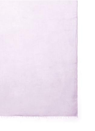 细节 - 点击放大 - FALIERO SARTI - 须边莫代尔混丝围巾