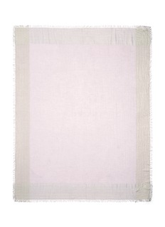 FALIERO SARTI'Jin' metallic border silk blend scarf