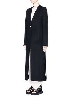 ACNE STUDIOS Wool-cashmere melton long coat