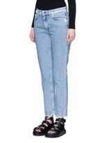 'Boy Indigo Fray' jeans