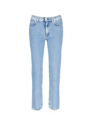 Main View - Click To Enlarge - Acne Studios - 'Boy Indigo Fray' jeans