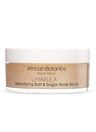 Main View - Click To Enlarge - African Botanics - MARULA Detoxifying Salt & Sugar Body Scrub 200ml