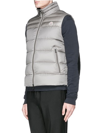 Moncler-'Dupres' quilted down vest