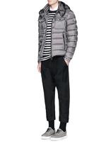 'Edward' detachable hood down puffer jacket