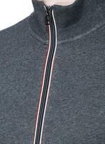 Signature trim cotton jacket