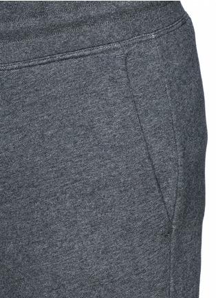细节 - 点击放大 - MONCLER - 纯棉休闲长裤