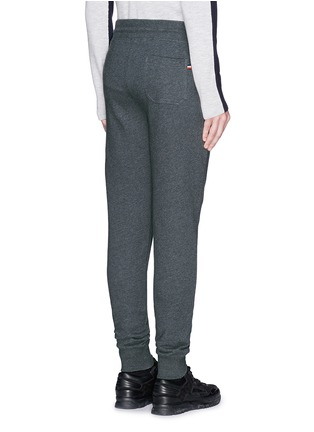 Moncler-Cotton French terry sweatpants