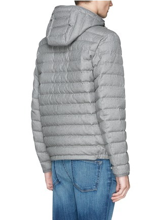 Back View - Click To Enlarge - Moncler - 'Blanchard' quilted wool down jacket