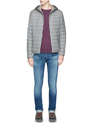 Figure View - Click To Enlarge - Moncler - 'Blanchard' quilted wool down jacket