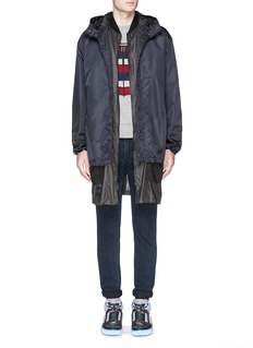 Moncler Down jacket embroidery sweatshirt