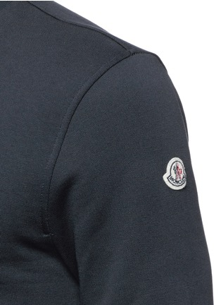 Moncler - Down jacket embroidery sweatshirt