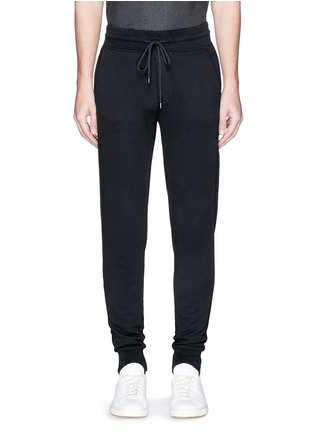 Main View - Click To Enlarge - Moncler - Cotton French terry sweatpants