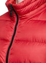 'Hymalay' quilted hood down jacket