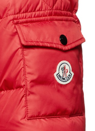 Detail View - Click To Enlarge - Moncler - 'Hymalay' quilted hood down jacket