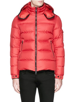 Main View - Click To Enlarge - Moncler - 'Hymalay' quilted hood down jacket