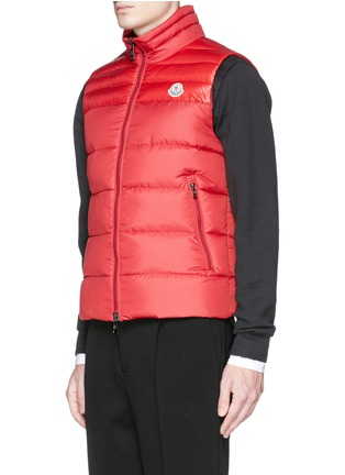 Front View - Click To Enlarge - Moncler - 'Dupres' quilted down vest