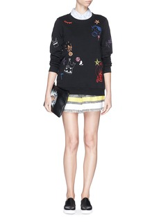 MARKUS LUPFER'Colour Circus Embroidery' sweatshirt