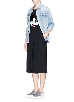 Figure View - Click To Enlarge - MARKUS LUPFER - x Disney 'Vintage Mickey' sequin Hetty tank top