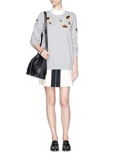 MARKUS LUPFER'Sparkle Arrows' sequin sweatshirt