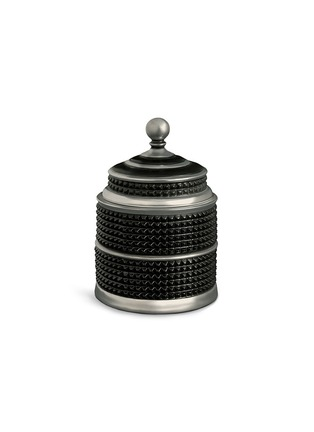 Main View - Click To Enlarge - L'Objet - Bibliotheque Candle Canister - Platinum