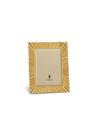 L'OBJET-RAY镀24K金水晶相框(6寸)