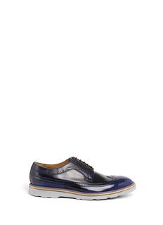 PAUL SMITH 'Grand' contrast sole brogues