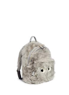 Anya Hindmarch'Eyes' mini shearling leather backpack