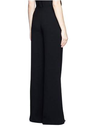 Back View - Click To Enlarge - Theory - 'Simonne' admiral crepe wide leg pants