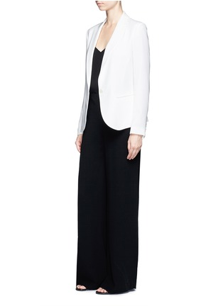 Figure View - Click To Enlarge - Theory - 'Simonne' admiral crepe wide leg pants