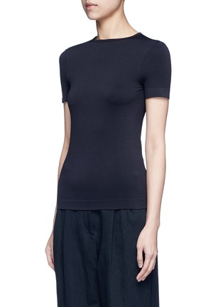 Front View - Click To Enlarge - Helmut Lang - Seamless jersey T-shirt