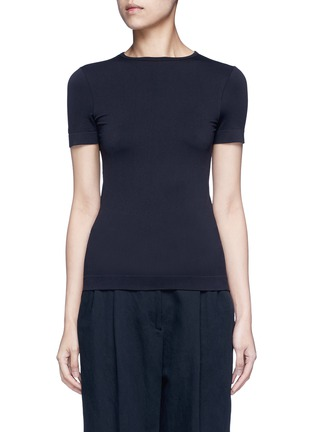 Main View - Click To Enlarge - Helmut Lang - Seamless jersey T-shirt