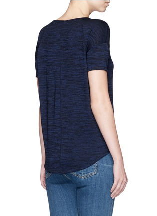 Back View - Click To Enlarge - rag & bone/JEAN - 'Melrose Femme' V-neck T-shirt