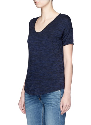 Front View - Click To Enlarge - rag & bone/JEAN - 'Melrose Femme' V-neck T-shirt